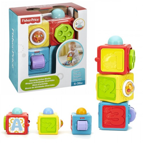 Fisher Price Eğlenceli Küpler DHW15