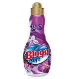 Bingo Soft Konsantre Çamaşır Yumuşatıcısı Mor Çiçekler 1,44 lt