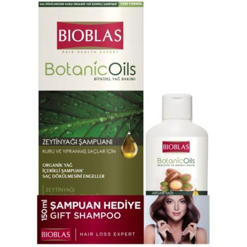 Bioblas Botanic Oils Kuru Saçlar İçin Şampuan + 150 ml Şampuan Hediye