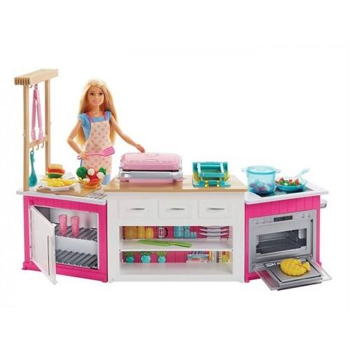 Barbienin Mutfak Dünyası Oyun Seti FRH73