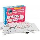 Diy-Toy Yaz-Sil Alfabe Puzzle 1376