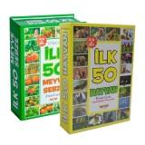 Flash Cards İlk 50 Hayvan + İlk 50 Meyve Sebze