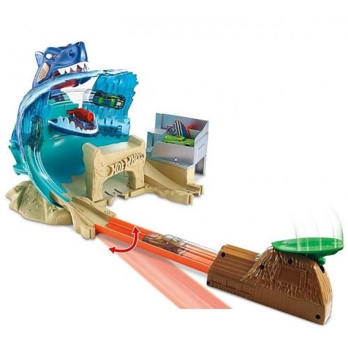 Hot Wheels Köpekbalığı Sharky Macerası Oyun Seti FNB21