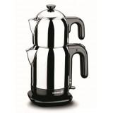 Korkmaz A369 Demtez Çay Makinası (Siyah)