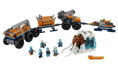 Lego City Mobile Base 60195