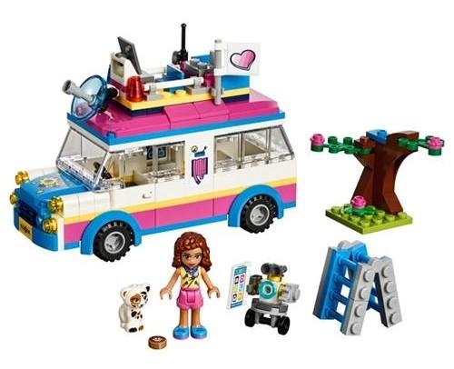 Lego Friends Olivia'nın Görev Aracı 41333
