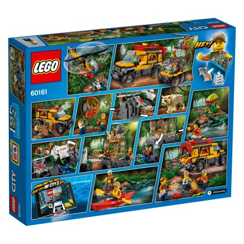 Lego City Jungle Exploration Site 60161