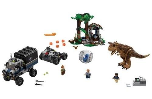 Lego Jurassic World Carnotaurus Escape 75929