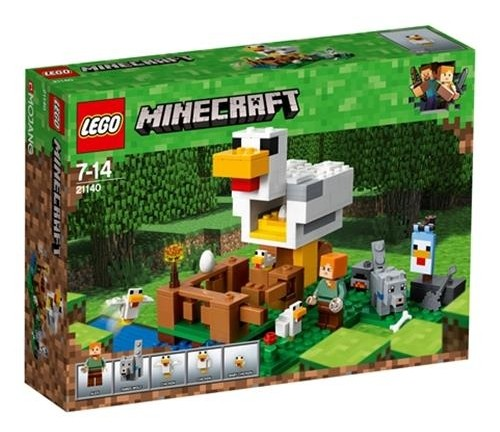 Lego Minecraft Chicken Coop 21140