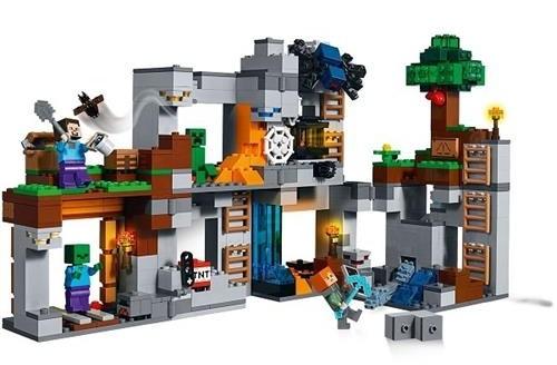 Lego Minecraft Katman Kayası Maceraları 21147