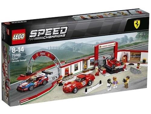 Lego Speed Ferrari Ultimate Garage 75889