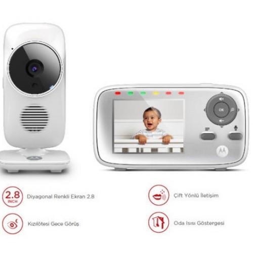 Motorola MBP483 2.8 İnç LCD Ekran Dijital Bebek Kamerası