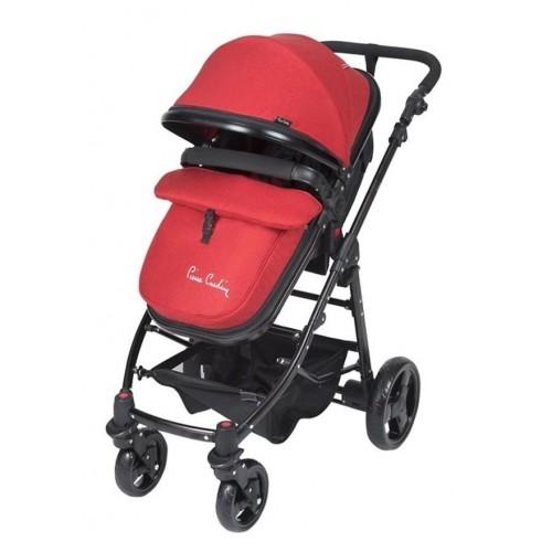 Pierre Cardin PC-418 Tour Travel Sistem Bebek Arabası Kırmızı