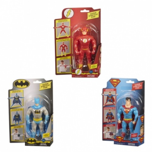 Stretch Batman-Superman-Flash 15 cm Uzayan Mini Figürler