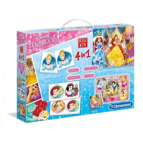 Clementoni Edukit 4 in1 New Princess Eğitici Set 13256