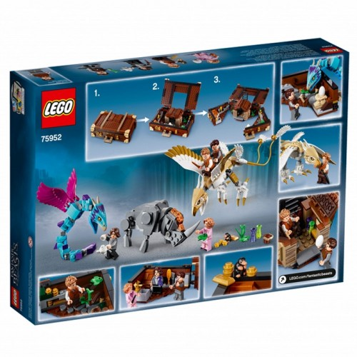 Lego 75952 Harry Potter Newts Case Of Creatures