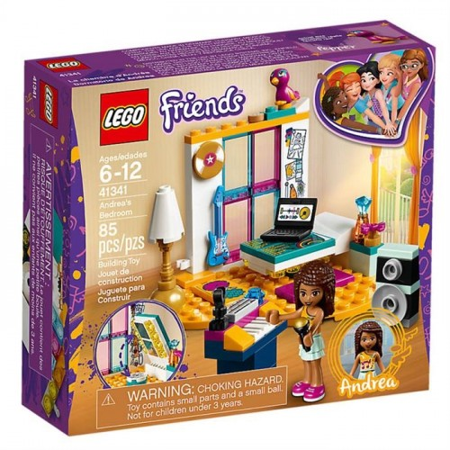Lego Friends Andreas Bedroom 41341