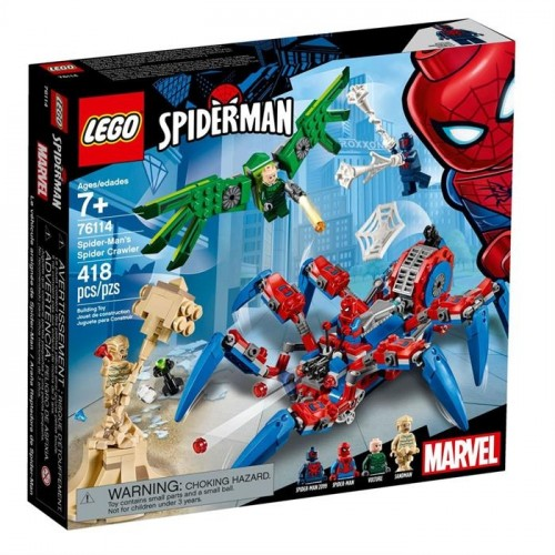 Lego Süper Hero Spidermans Crawler 76114