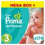 Prima Pampers Bebek Bezi Mega Box Plus Midi 3 Beden 174 lü