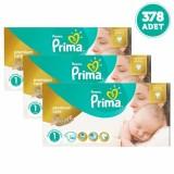 Prima Premium Care Bebek Bezi Yenidoğan 1 Beden 126 adet x 3 Adet