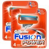 Gillette Fusion Power Yedek Tıraş Bıçağı 4 lü x 2 Adet