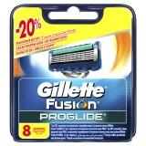 Gillette Fusion Proglide Yedek Başlık 8 li