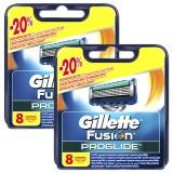 Gillette Fusion Proglide Yedek Başlık 8 li x 2 Adet