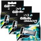 Gillette Mach3 Yedek Tıraş Bıçağı 2 li x 3 Adet