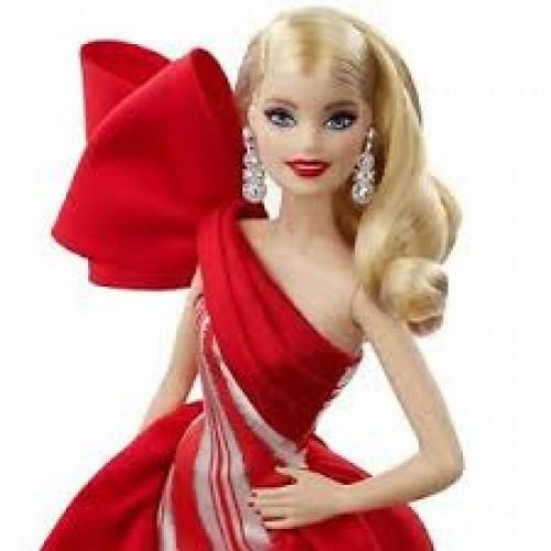 Barbie Mutlu Yıllar Bebeği 2019 FXF01