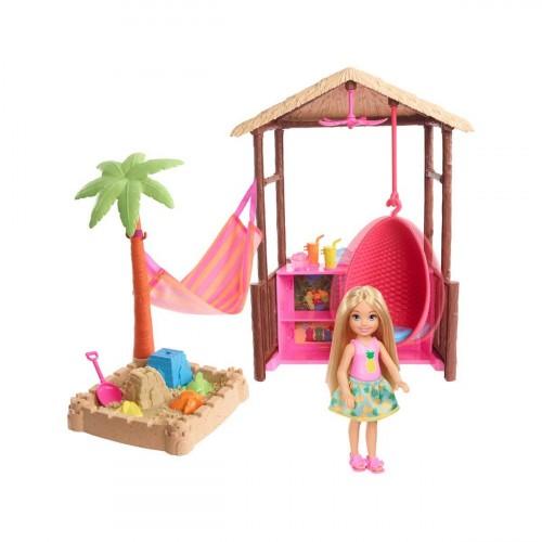 Barbie FWV24 Seyahatte Chelsea nin Kum Eglencesi Oyun Seti