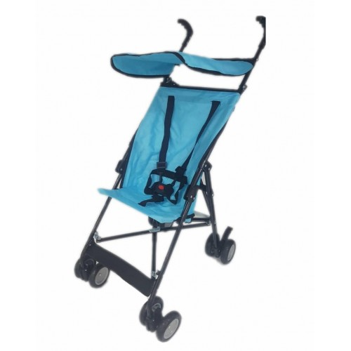 Aldeba 3020 Pratik Baston Bebek Arabası (Mavi)