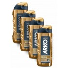 Arko Men Tıraş Kolonyası Gold Power 250 ml x 4 Adet