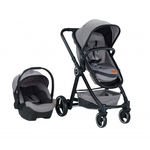 Baby2Go 2033 Joy Travel Sistem Bebek Arabası - Gri