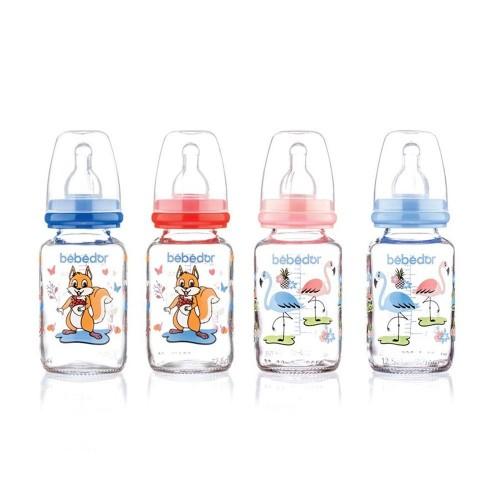 Bebedor 30302 Desenli Cam Biberon 125 ml x 2 Adet