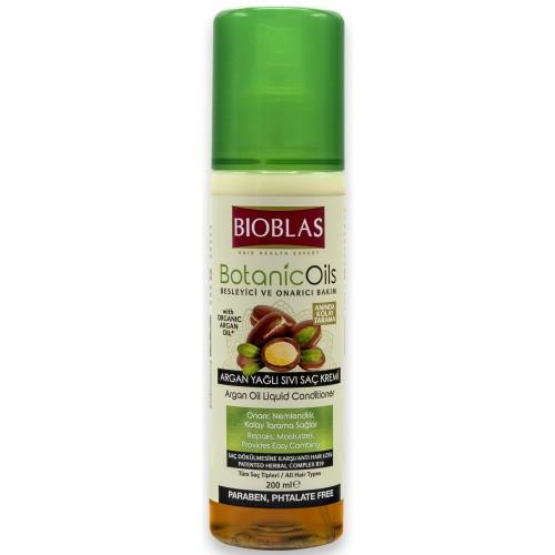 Bioblas Besleyici ve Onarıcı Bakım Argan Yağlı Sıvı Saç Kremi 200 ml