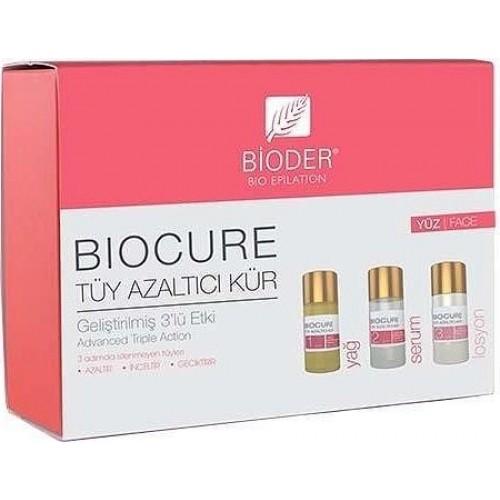 Bioder Biocure Tüy Azaltıcı Yüz Kürü 3x5 ml