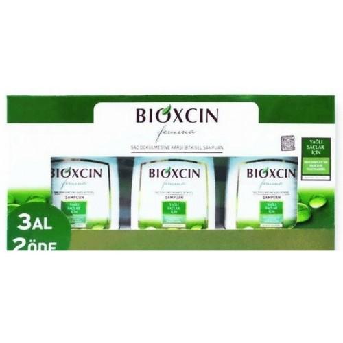 Bioxcin Femina 3 Al 2 Öde Şampuan 300 ml (Yağlı Saçlar için)