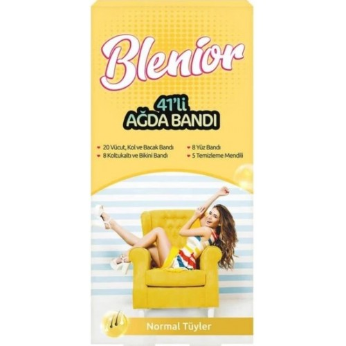 Blenior Normal Ciltler Ağda Bandı 41 li