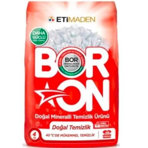 Boron Doğal Mineralli Temizlik Ürünü Beyazlar İçin 4 Kg x 3 Adet