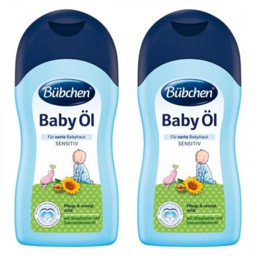 Bübchen Bebek Yağı (Baby Oil) 400 ml x 2 Adet
