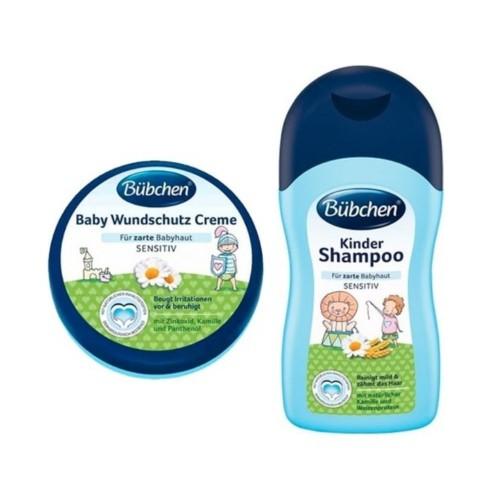 Bübchen Şampuan 400 ml + Pişik Önleyici Bariyer Krem 150 ml