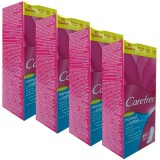 Carefree Cotton Fresh Parfümsüz Günlük Ped 20 li x4 Adet