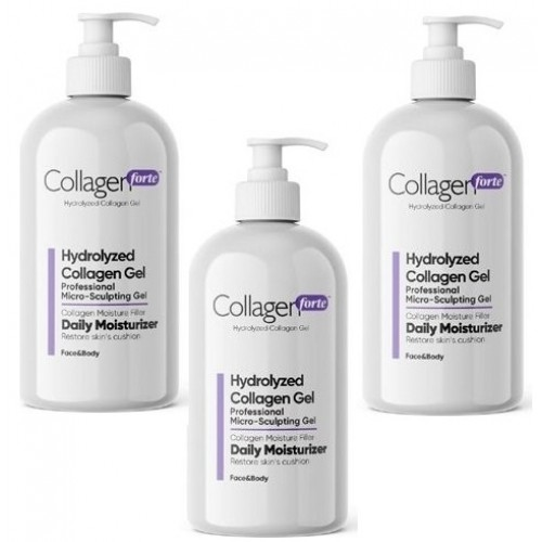 Collagen Forte Hydrolyzed Jel 250 ml x 3 Adet