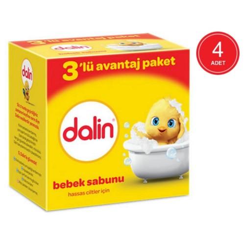 Dalin Bebe Sabun 100 gr (3lü Avantaj Paketi) x 4 Adet