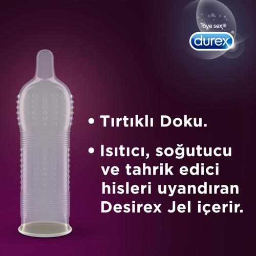 Durex Intense ve Klasik Prezervatif Kondom 40 lı