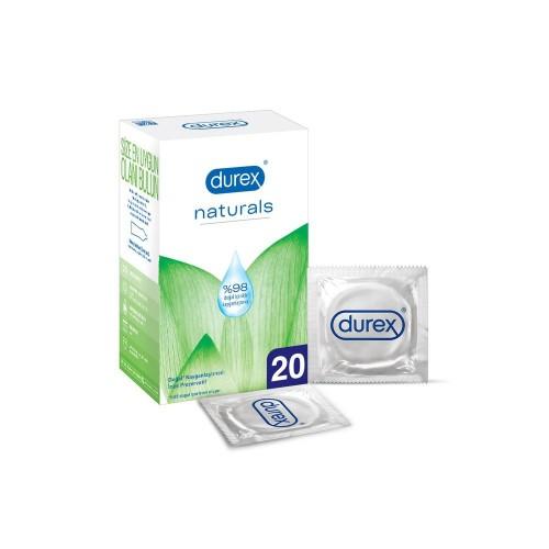 Durex Naturals Prezervatif Paket 20 li
