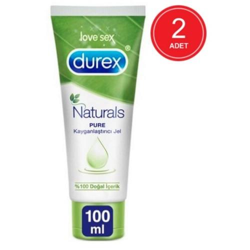 Durex Naturals Pure Kayganlaştırıcı Jel 100 ml x 2 Adet