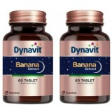 Dynavit Banana Extract 60 Tablet x 2 Adet
