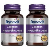 Dynavit Collagen & Hyaluronic Acid 30 Tablet x 2 Adet