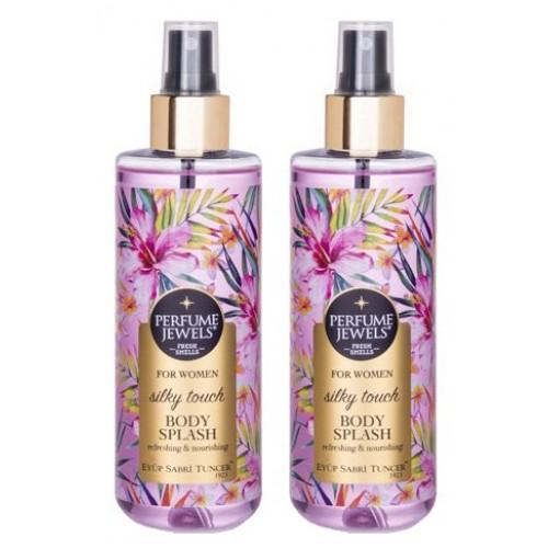 Eyüp Sabri Tuncer Perfume Jewels Silky Touch Vücut Spreyi 250 ml 2 li